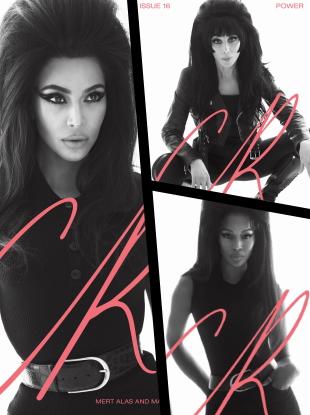 CR Fashion Book #16 S/S 2020 : Kim Kardashian West, Cher & Naomi Campbell by Mert & Marcus