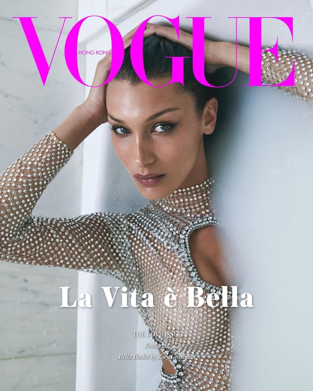 Vogue Hong Kong February 2020 : Bella Hadid by Zoey Grossman
