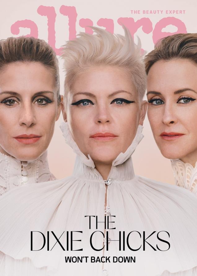 Allure April 2020 : The Dixie Chicks by Liz Collins