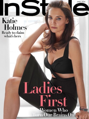 US InStyle April 2020 : Katie Holmes by Sebastian Faena