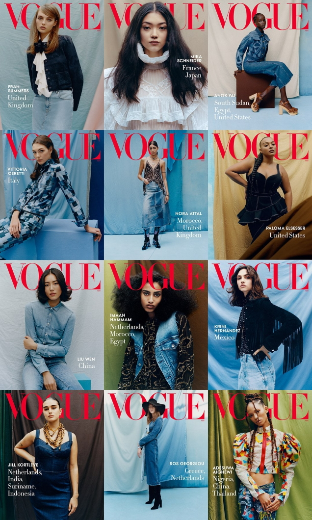 US Vogue April 2020 : The 'Beauty Without Borders' Issue by Tyler Mitchell