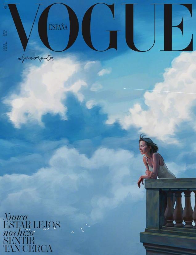 Vogue España May 2020 by Ignasi Monreal