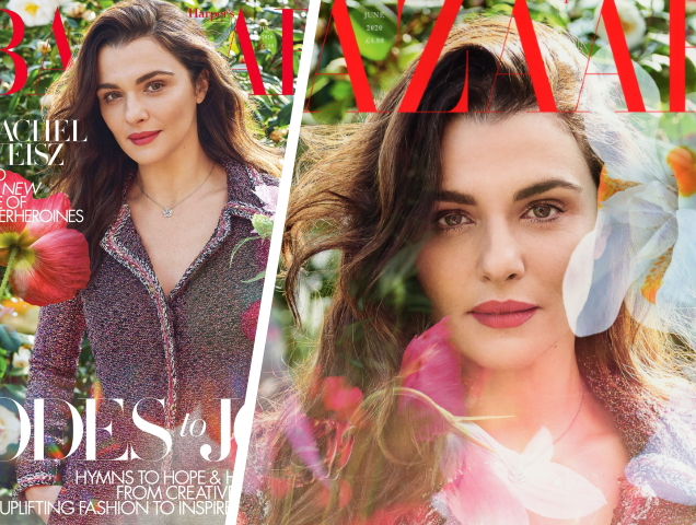 Rachel Weisz Helps British Harper's Bazaar Keep Its Winning Streak Going With Two Gorgeous June 2020 Covers