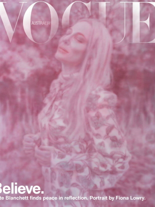 Vogue Australia June/July 2020 : Cate Blanchett by Fiona Lowry