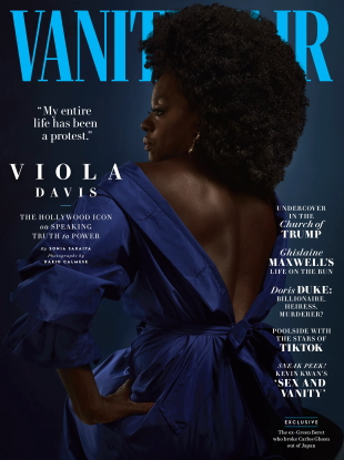 Vanity Fair July/August 2020 : Viola Davis by Dario Calmese