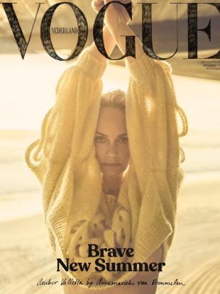 Vogue Netherlands July/August 2020 : Amber Valletta by Annemarieke van Drimmelen