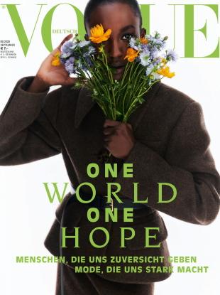 Vogue Germany September 2020 : Nicole Atieno by Stefan Heinrichs