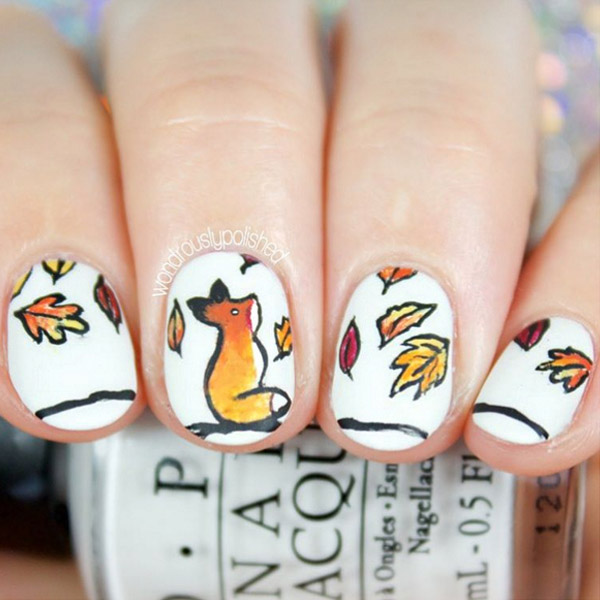 47 Fall Nail Art Ideas We Can\'t Wait to Try - theFashionSpot