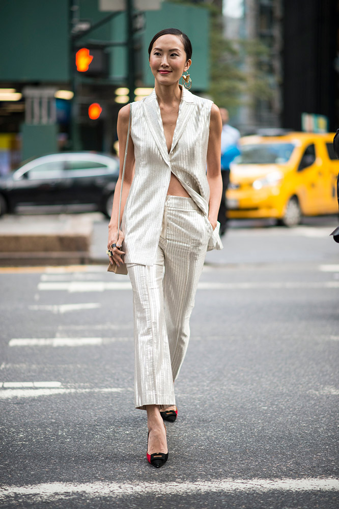 bad70e0a540 All-White Clothes  Hot Ways to Style White Outfits - theFashionSpot
