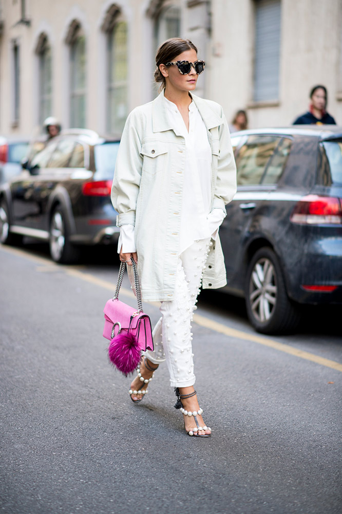 77ff76dd564 Pop of Pink. Play With Proportions. Subtle Stripes. White Hot. Burn Out.  Unexpected Accessory. White Off. Little White Dress. All White