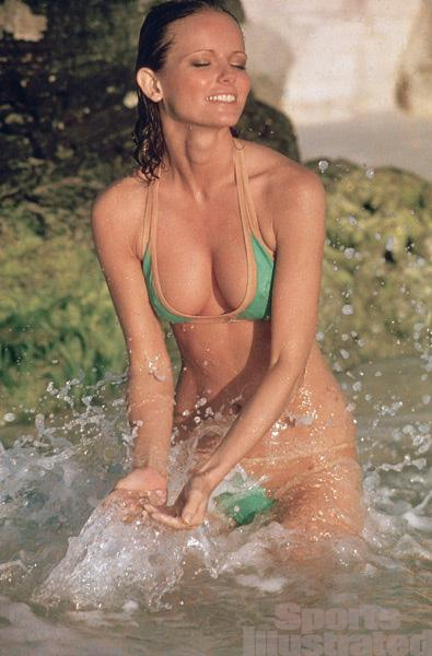 Busty milf bikini