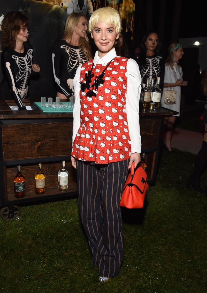 Olivia Munn at the 2018 Casamigos Halloween Party