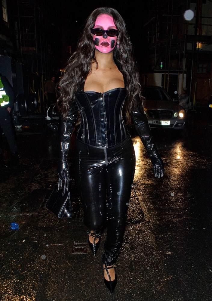 Rihanna at Annabel's Halloween Party