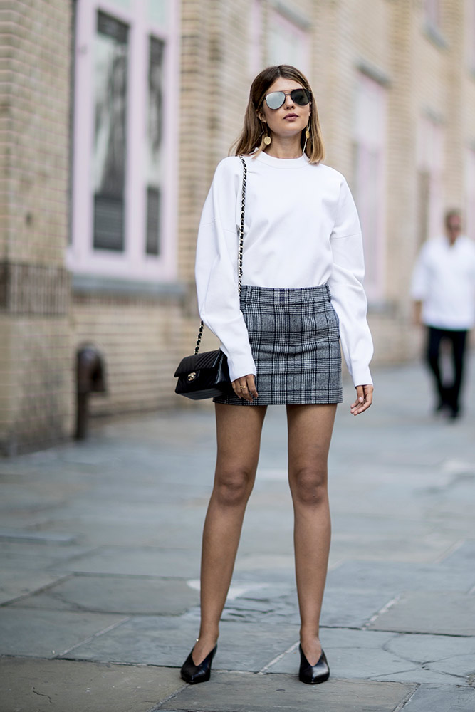 22 Miniskirt Outfit Ideas To Wear All Season Long Thefashionspot