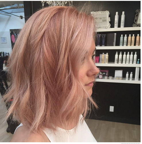 Hot Hair Color Trends 2016 - theFashionSpot