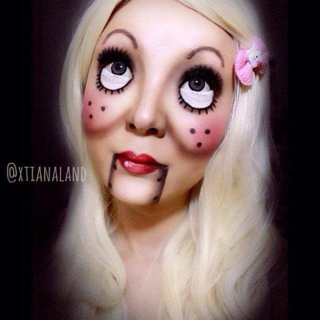 101 Mind,Blowing Halloween Makeup Ideas to Try This Year