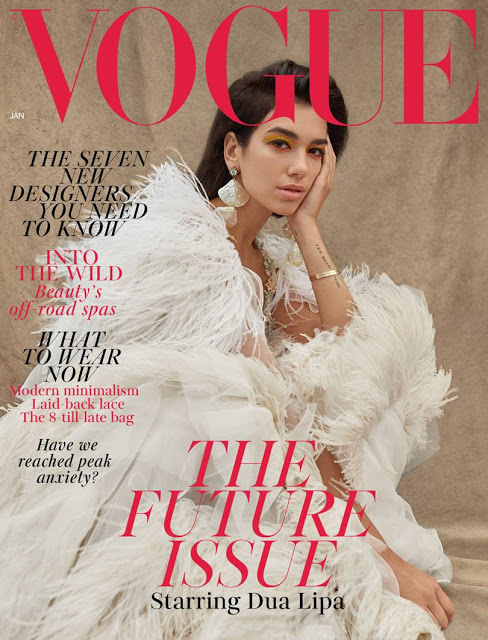 British Vogue  All the January 2019 Magazine Covers We Loved and Hated vogue jan cover high res dua lipa b