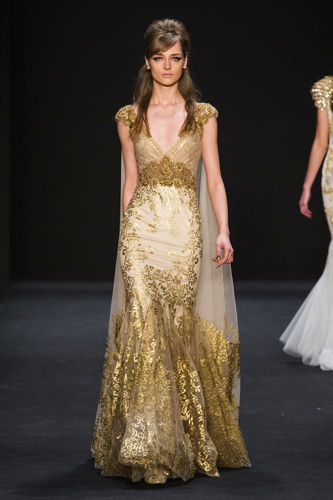 e86c2de5df4 Badgley Mischka Fall 2015 Runway - theFashionSpot