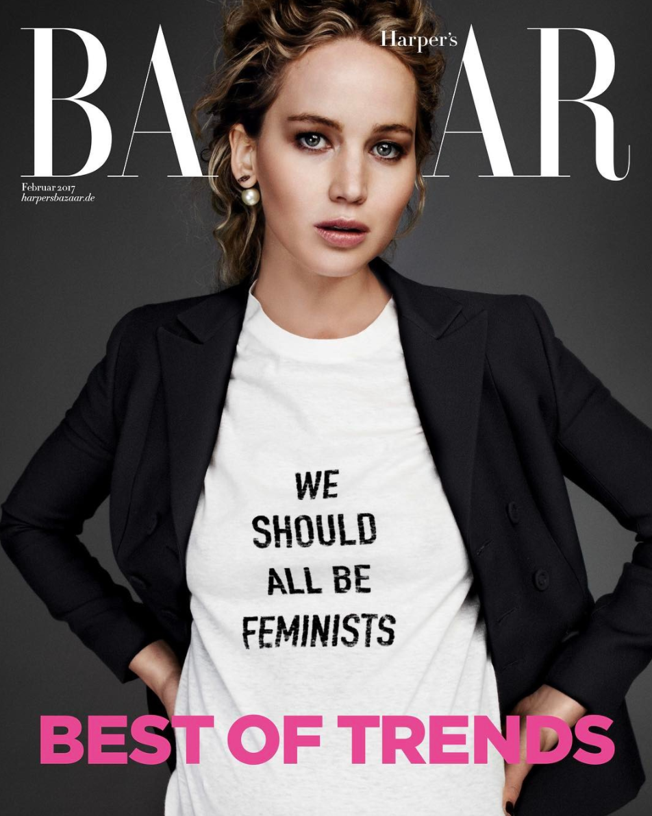9d285bea1 Trend Alert: We Should All Be Wearing Feminist T-Shirts - theFashionSpot