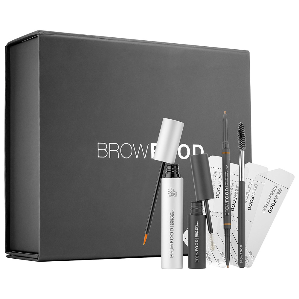 LASHFOOD  Makeover Your Brow Grooming Routine With These Compact Kits lashfood browfood brow transformation system