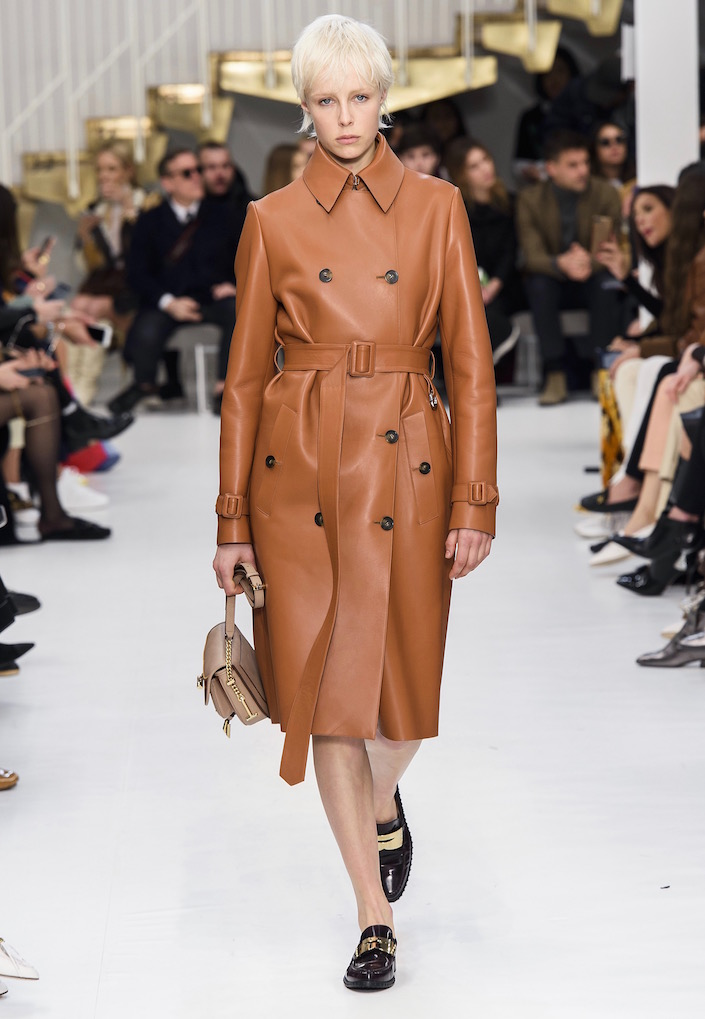 Buttery Brown Leather Coats