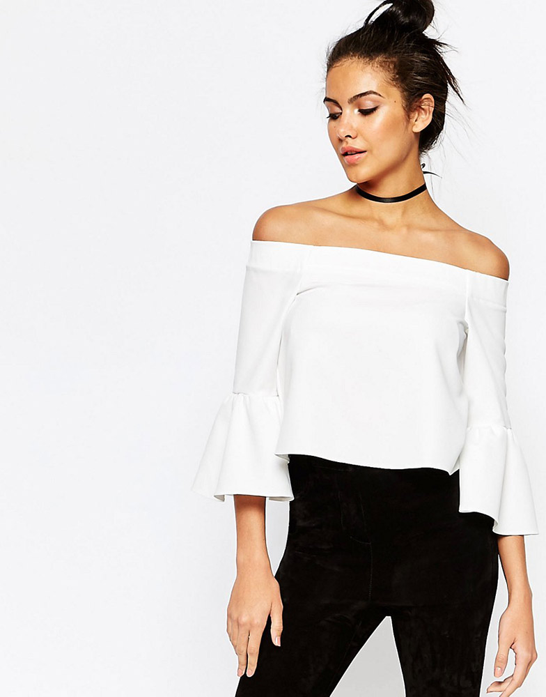 caa6be7e65e Fashion Trend: Off-the-Shoulder Tops - theFashionSpot