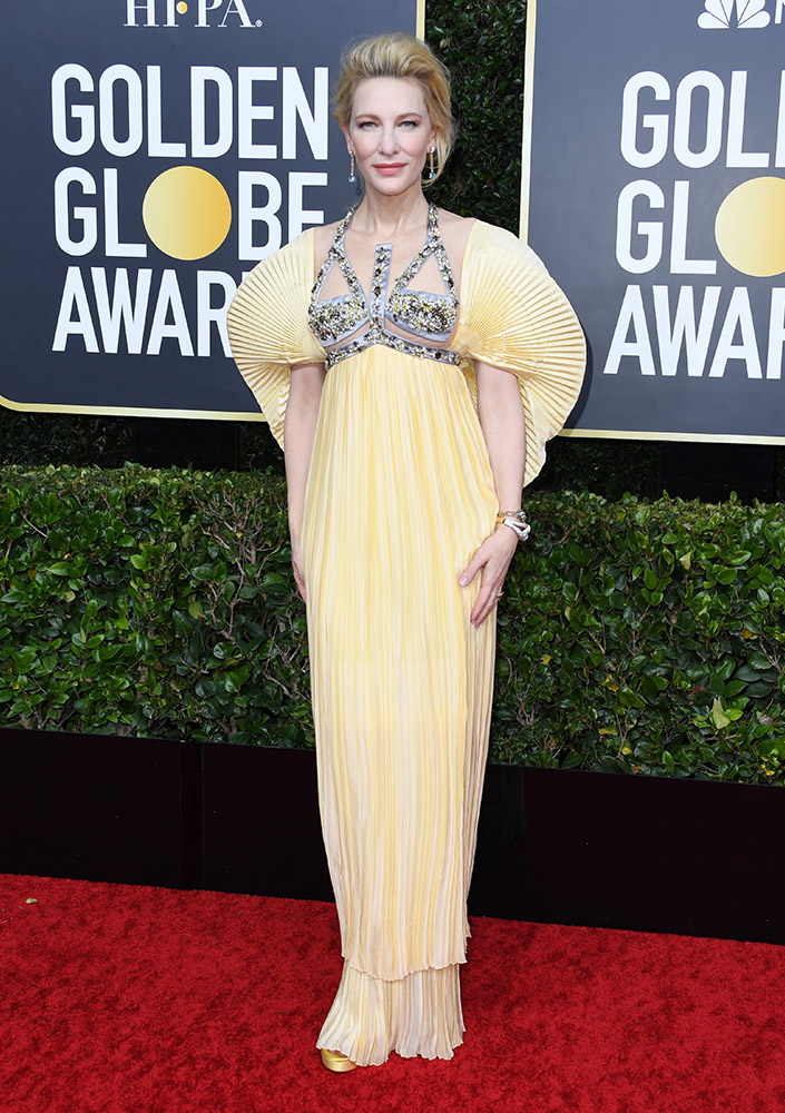 2020 Golden Globe Awards Red Carpet Thefashionspot