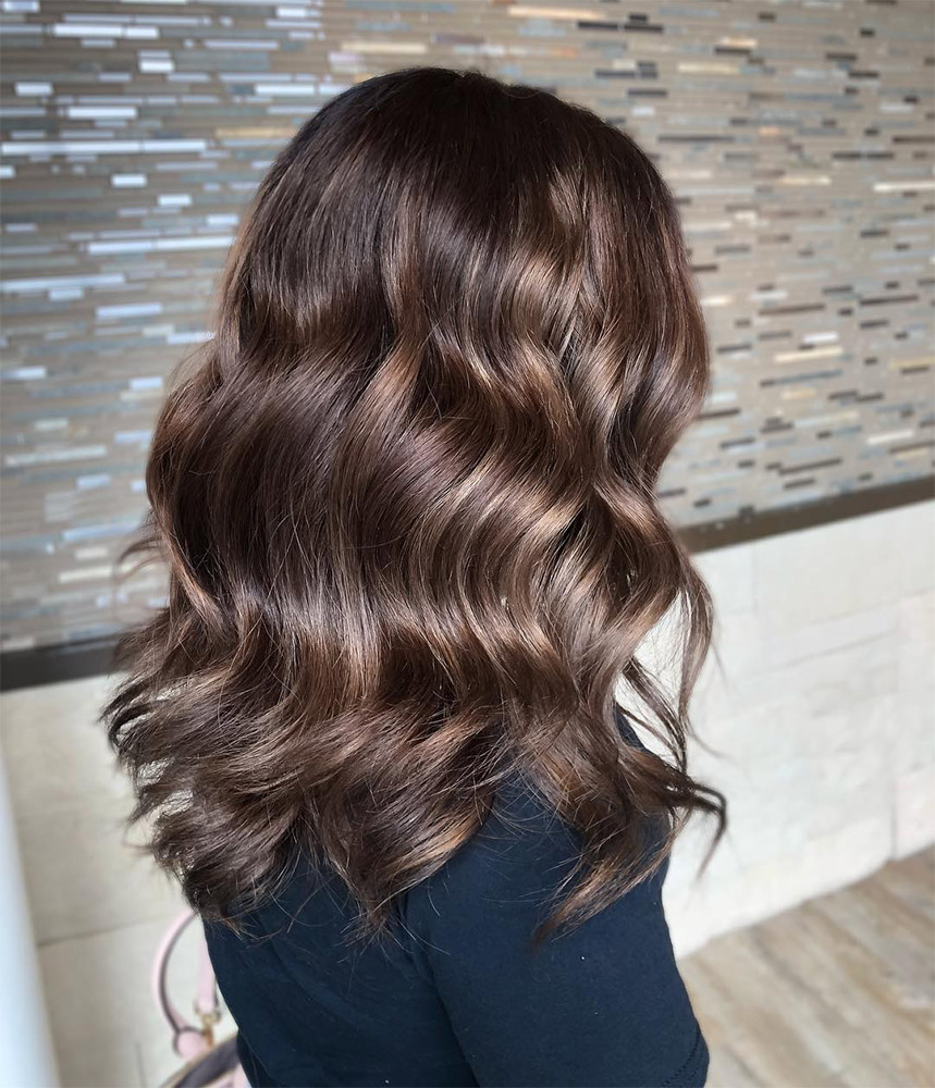 9 Hair Color Terms Every Brunette Should Know - theFashionSpot