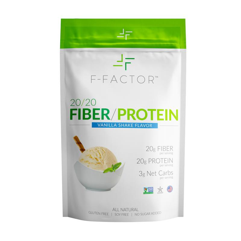 F-Factor 20/20 Fiber/ Protein Powder