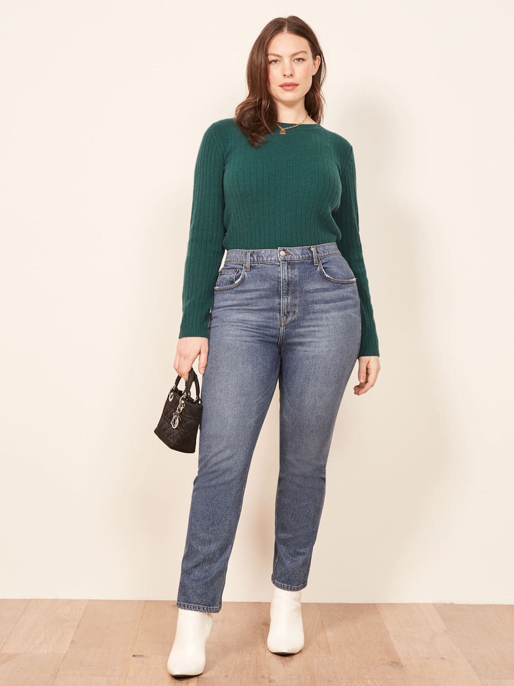 d75f41a5701e2d Best High-Waisted Jeans for Every Body Type - theFashionSpot
