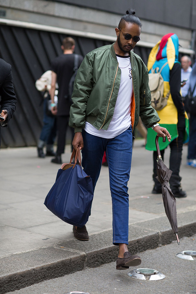 London Collections Men Spring 2016 Street Style Thefashionspot