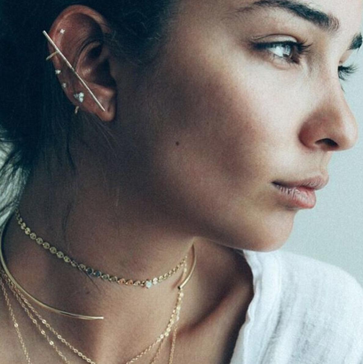 16 Ways To Wear Multiple Earrings Like A Pro Aka Zoë Kravitz