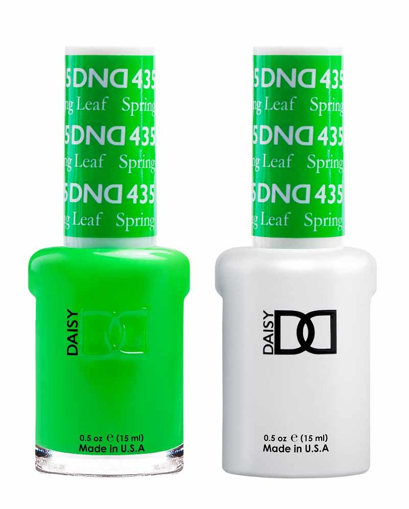 DND  The Summer-Ready Neon Nail Polish Shades to Replace Your Overrated Reds DND Spring Leaf