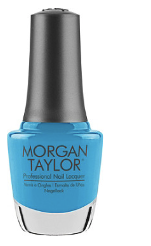 Morgan Taylor  The Summer-Ready Neon Nail Polish Shades to Replace Your Overrated Reds Morgan Taylor Blue Lacquer