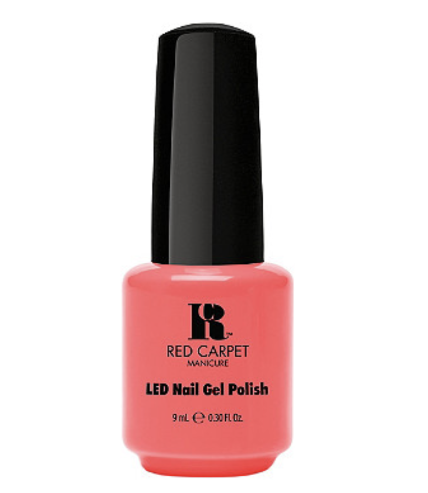 Red Carpet Manicure  The Summer-Ready Neon Nail Polish Shades to Replace Your Overrated Reds Red Carpet Tangerine