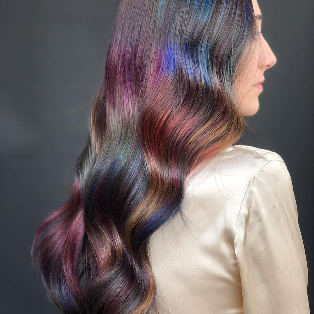 Geliefde Oil Slick Hair Is the Latest Instagram Trend - theFashionSpot #LC92