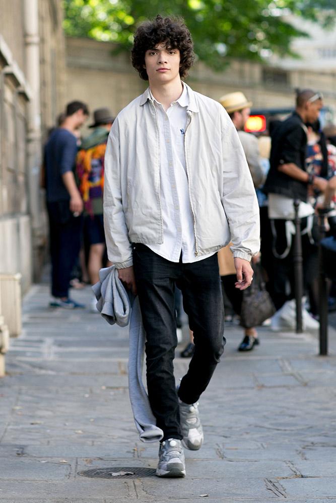 Street Style Paris Men S Fashion Week Spring 2016 Thefashionspot