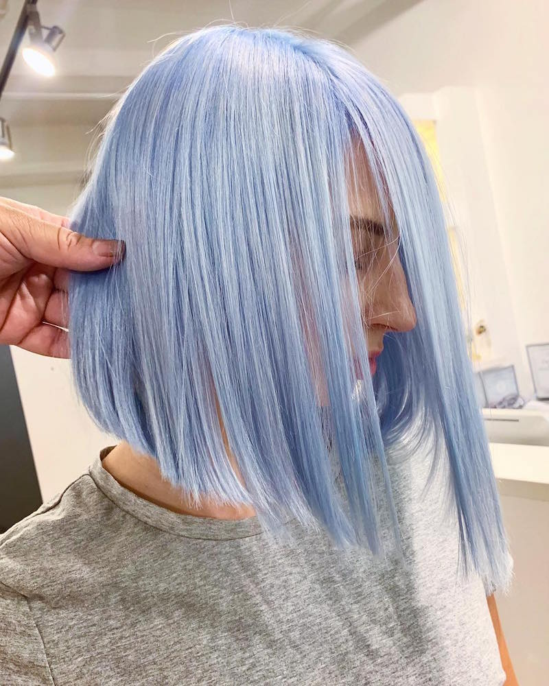 Periwinkle Pastel Hair Is Like a Dream Come True