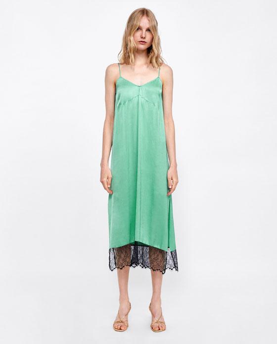 41b5be94d6e9 19 Slinky Slip Dresses for Summer - theFashionSpot