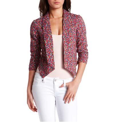 Awakening spring jackets get the floral treatment catalog photo