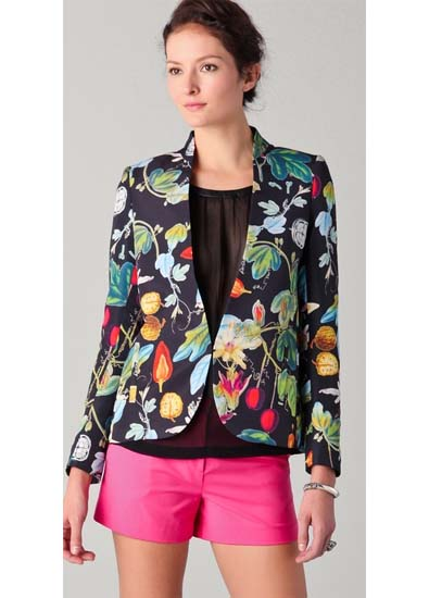 Awakening spring jackets get the floral treatment