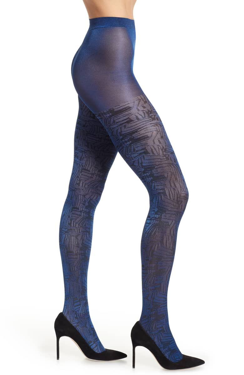 Winter Dressing Just Got a Lot More Interesting Thanks to These Statement Tights