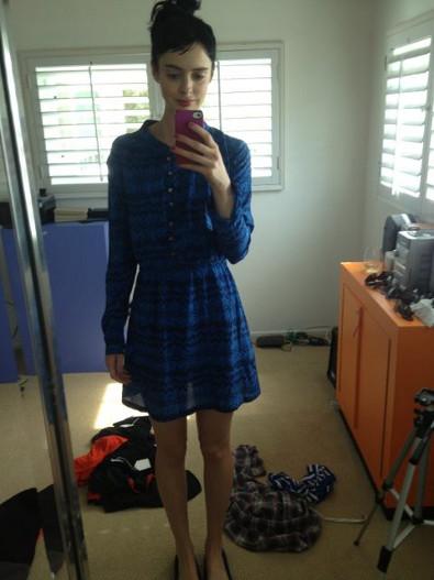 Krysten Ritter S Boyfriend Roved Wren Dress