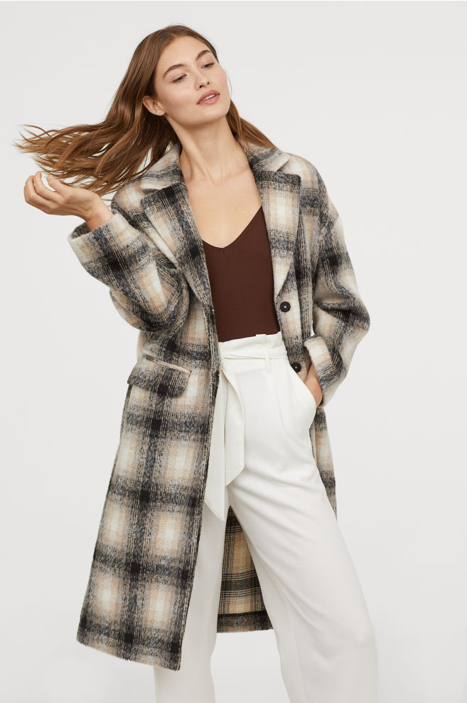 A Plaid Coat