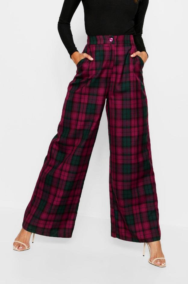 Colorful Plaid Pants
